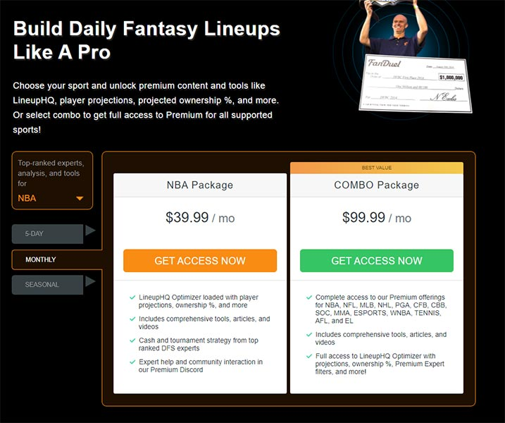 Rotogrinders DFS Reviews - Pricing
